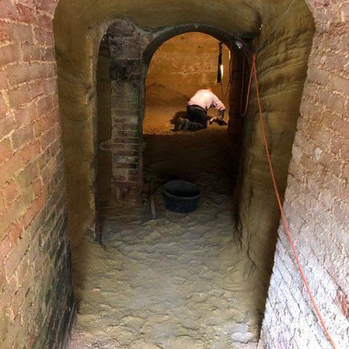 Studio Anna Cane | Durante i lavori | Palazzotto storico a Pocapaglia - 1