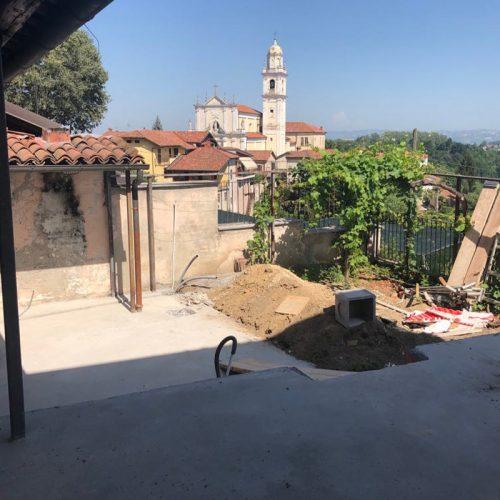 Studio Anna Cane | Durante i lavori | Palazzotto storico a Pocapaglia - 11