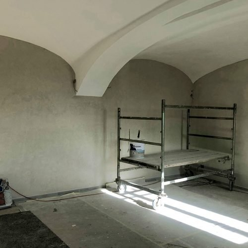 Studio Anna Cane | Durante i lavori | Palazzotto storico a Pocapaglia - 14