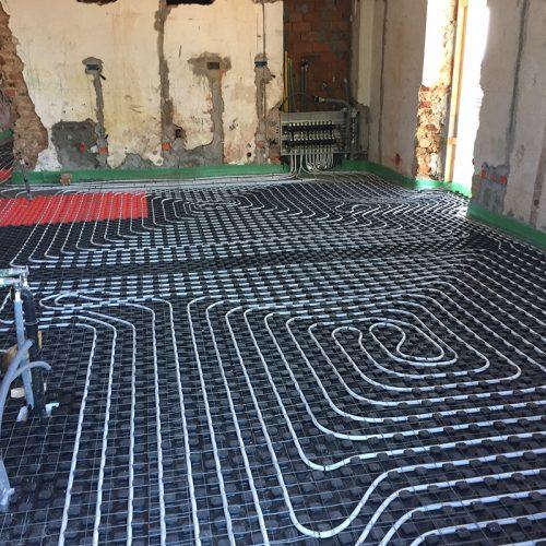 Studio Anna Cane | Durante i lavori | Palazzotto storico a Pocapaglia - 4