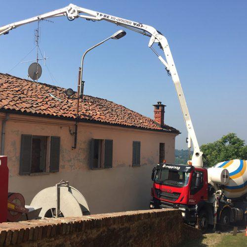 Studio Anna Cane | Durante i lavori | Palazzotto storico a Pocapaglia - 5