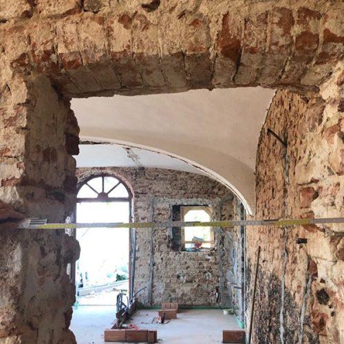 Studio Anna Cane | Durante i lavori | Palazzotto storico a Pocapaglia - 6