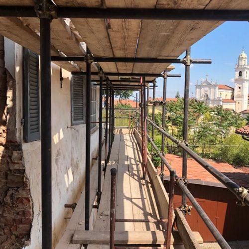 Studio Anna Cane | Durante i lavori | Palazzotto storico a Pocapaglia - 8