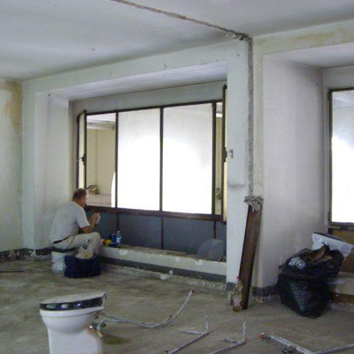 Studio Anna Cane | Durante i lavori | Appartamento a Torino, via Po - 2