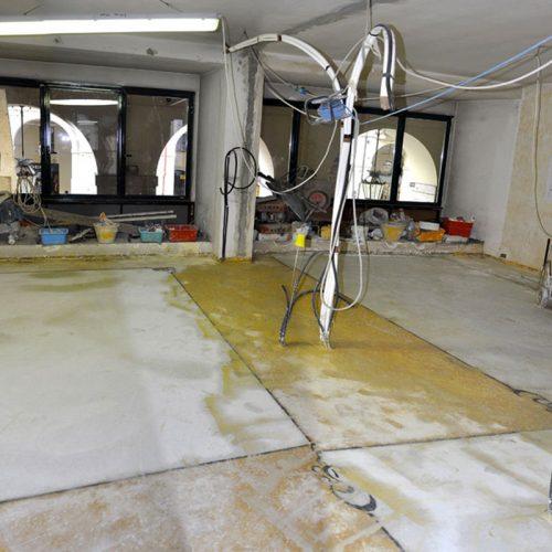 Studio Anna Cane | Durante i lavori | Appartamento a Torino, via Po - 3