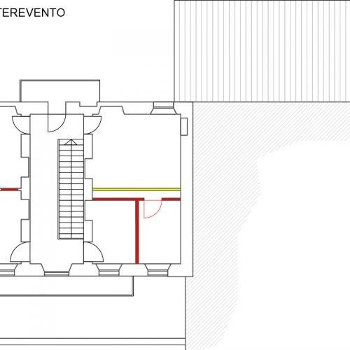 Studio Anna Cane | Durante i lavori | Casa in Val Gaia a Rodello - 8