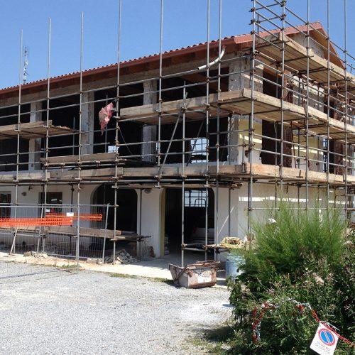 Studio Anna Cane | Durante i lavori | Casa in zona residenziale a Roddino - 2