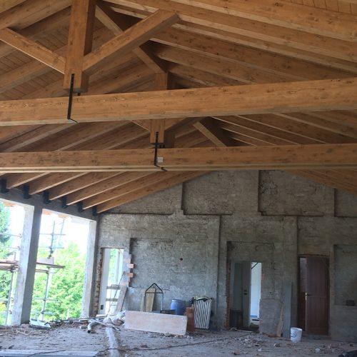 Studio Anna Cane | Durante i lavori | Casa in zona residenziale a Roddino - 5
