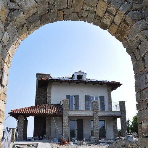 Studio Annamaria Cane | Villa in pietra di Langa in Montemarino | Nuove Costruzioni - Durante i Lavori - 3