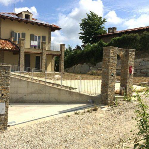 Studio Annamaria Cane | Villa in pietra di Langa in Montemarino | Nuove Costruzioni - Durante i Lavori - 7