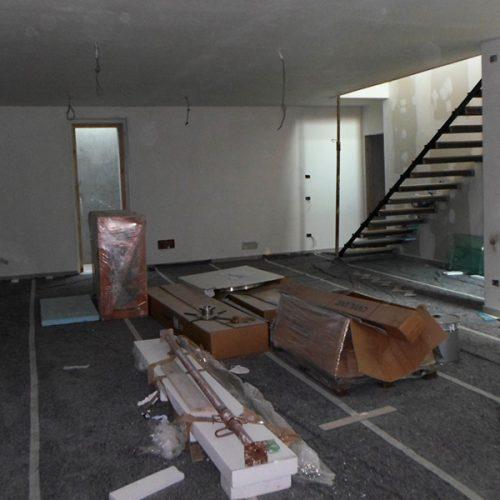 Studio Anna Cane | Durante i lavori | PEC Altavilla, Villa Lotto 3 - 14