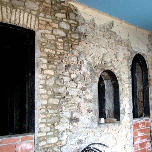 Studio Anna Cane   Durante i lavori   Porzione di casa storica a Monforte - 10
