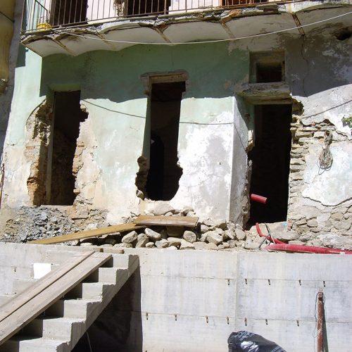 Studio Anna Cane   Durante i lavori   Porzione di casa storica a Monforte - 2