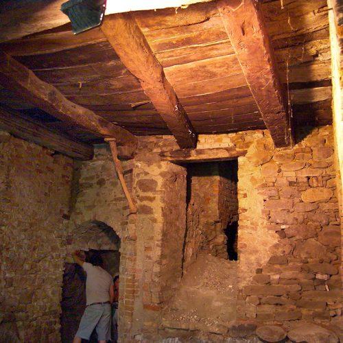 Studio Anna Cane   Durante i lavori   Porzione di casa storica a Monforte - 5