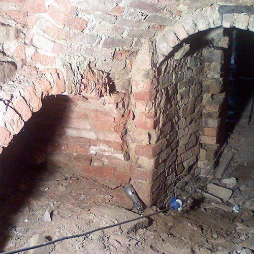 Studio Anna Cane   Durante i lavori   Porzione di casa storica a Monforte - 6