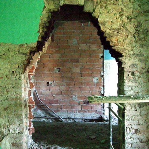 Studio Anna Cane   Durante i lavori   Porzione di casa storica a Monforte - 8