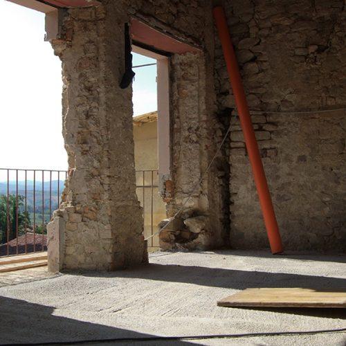 Studio Anna Cane   Durante i lavori   Porzione di casa storica a Monforte - 9