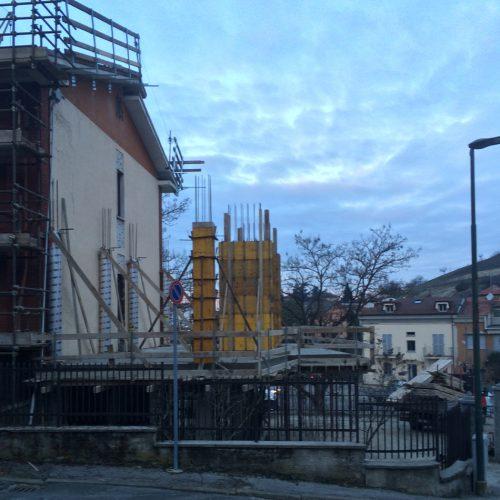 Studio Anna Cane | Durante i lavori | Stabile in strada Vedetta ad Alba - 3