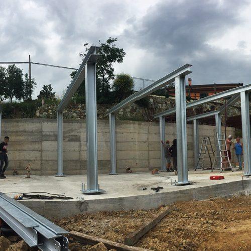 Studio Annamaria Cane | Villa Semi Ipogea in Noli | Nuove Costruzioni - Durante i lavori - 10