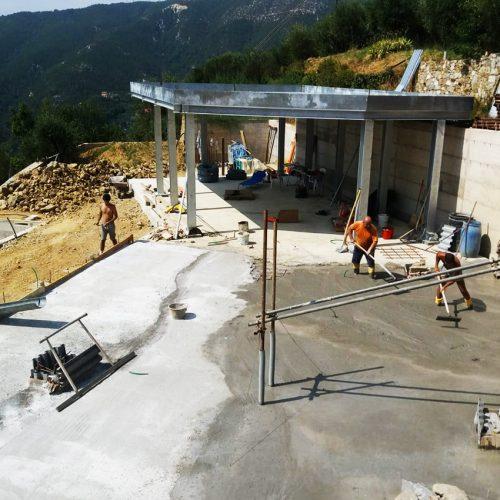 Studio Annamaria Cane | Villa Semi Ipogea in Noli | Nuove Costruzioni - Durante i lavori - 11