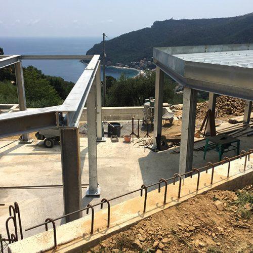 Studio Annamaria Cane | Villa Semi Ipogea in Noli | Nuove Costruzioni - Durante i lavori - 12