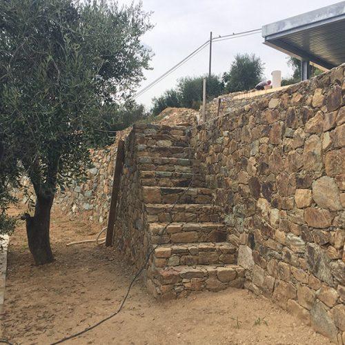 Studio Annamaria Cane | Villa Semi Ipogea in Noli | Nuove Costruzioni - Durante i lavori - 13