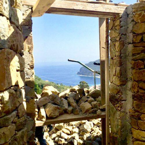 Studio Annamaria Cane | Villa Semi Ipogea in Noli | Nuove Costruzioni - Durante i lavori - 14
