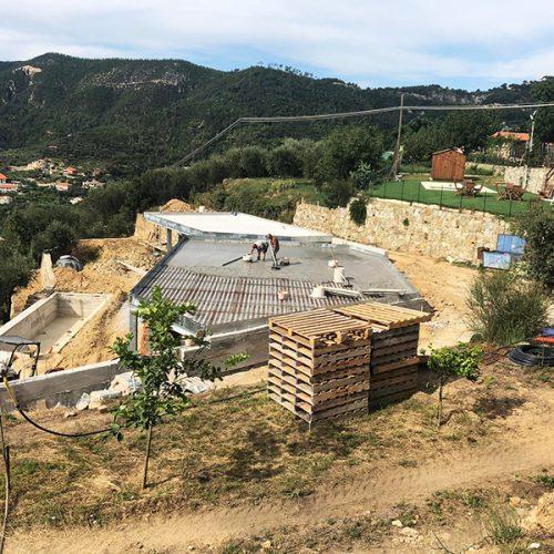 Studio Annamaria Cane | Villa Semi Ipogea in Noli | Nuove Costruzioni - Durante i lavori - 15