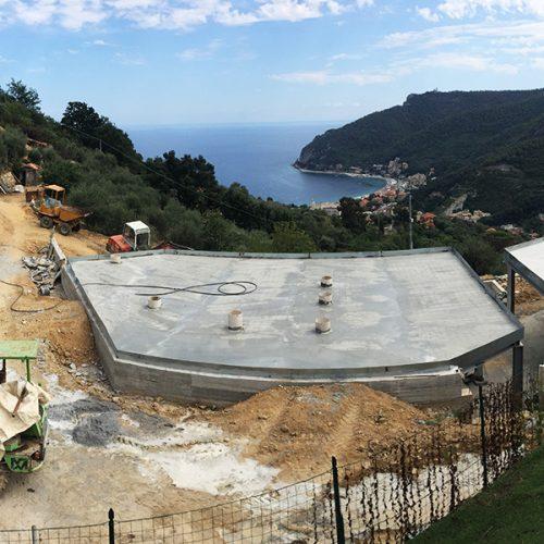 Studio Annamaria Cane | Villa Semi Ipogea in Noli | Nuove Costruzioni - Durante i lavori - 16