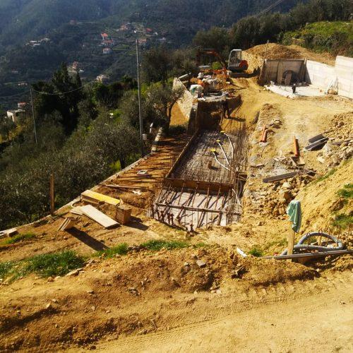 Studio Annamaria Cane | Villa Semi Ipogea in Noli | Nuove Costruzioni - Durante i lavori - 2