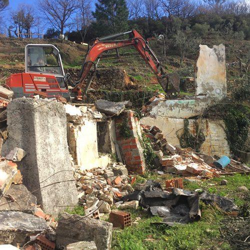 Studio Annamaria Cane | Villa Semi Ipogea in Noli | Nuove Costruzioni - Durante i lavori - 3