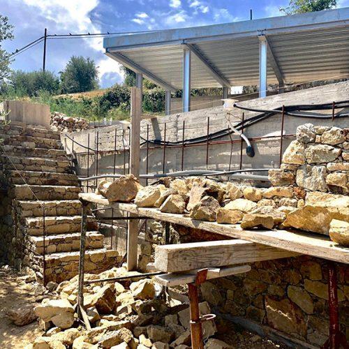 Studio Annamaria Cane | Villa Semi Ipogea in Noli | Nuove Costruzioni - Durante i lavori - 4