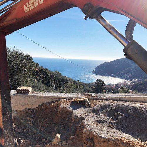Studio Annamaria Cane | Villa Semi Ipogea in Noli | Nuove Costruzioni - Durante i lavori - 7