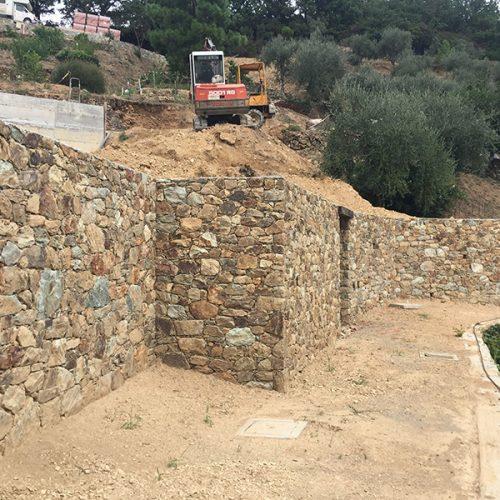 Studio Annamaria Cane | Villa Semi Ipogea in Noli | Nuove Costruzioni - Durante i lavori - 8