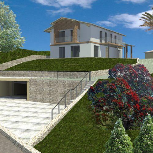 Studio Annamaria Cane | Villa Unifamiliare in Bra | Piano Casa - Il progetto - 1