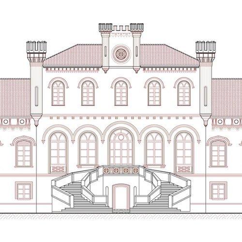Studio Anna Cane | Il progetto | Castello di Marene - 2