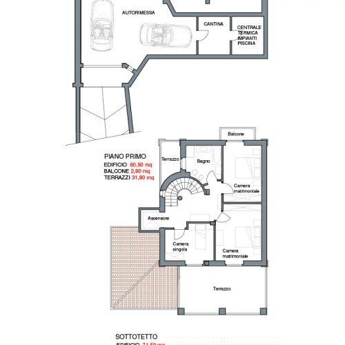 Studio Annamaria Cane | Villa in pietra di Langa in Montemarino | Nuove Costruzioni - 1