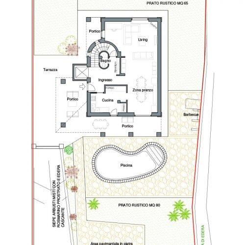 Studio Annamaria Cane | Villa in pietra di Langa in Montemarino | Nuove Costruzioni - 2