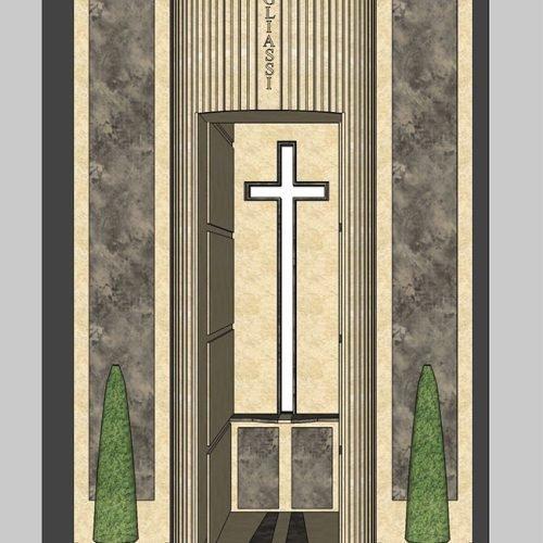Studio Anna Cane | Il progetto | Monumento funerario a Ricca - 1