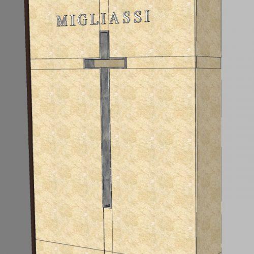 Studio Anna Cane | Il progetto | Monumento funerario a Ricca - 2