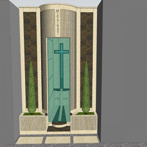 Studio Anna Cane | Il progetto | Monumento funerario a Ricca - 3