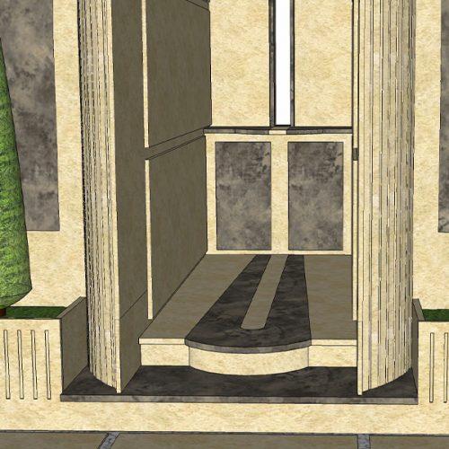 Studio Anna Cane | Il progetto | Monumento funerario a Ricca - 6