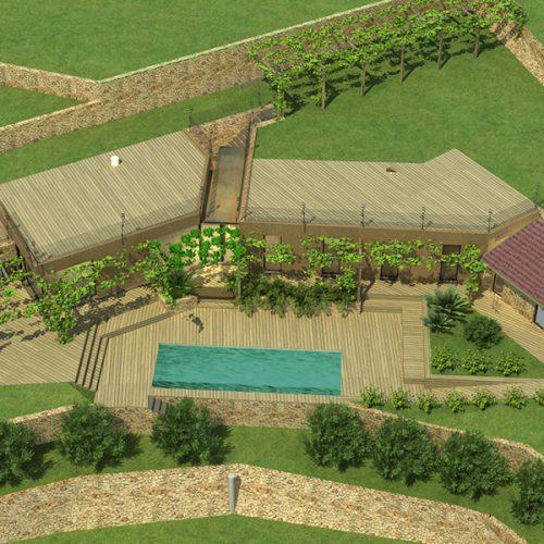 Studio Annamaria Cane | Villa Semi Ipogea in Noli | Nuove Costruzioni - 2
