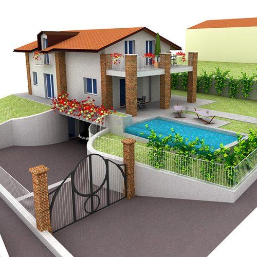 Studio Anna Cane | Il progetto | PEC Altavilla, Villa Lotto 2 - 1