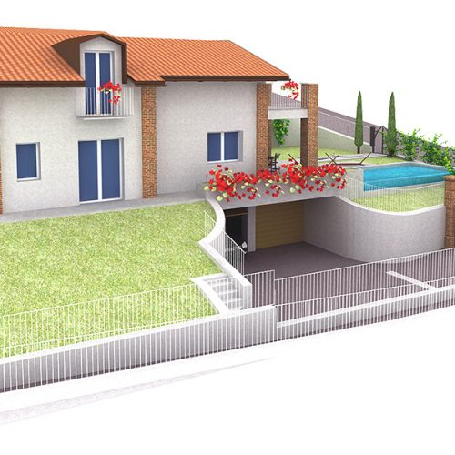 Studio Anna Cane | Il progetto | PEC Altavilla, Villa Lotto 2 - 3