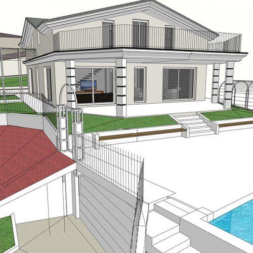 Studio Anna Cane | Il progetto | PEC Altavilla, Villa Lotto 3 - 4