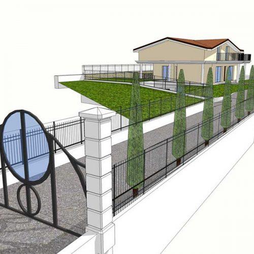 Studio Anna Cane   Il progetto   PEC Altavilla, Villa Lotto 5 -1