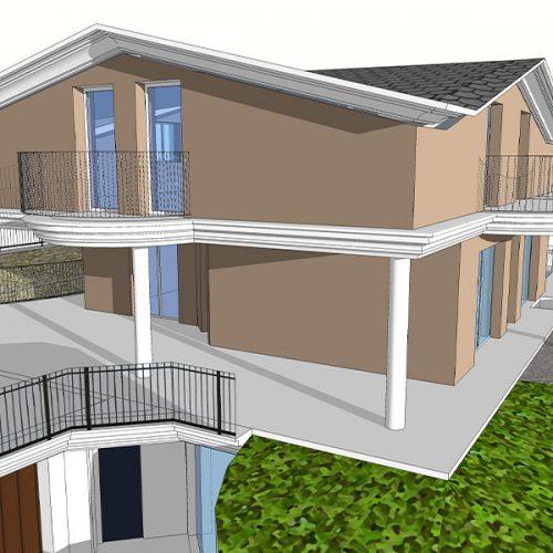 Studio Anna Cane   Il progetto   PEC Altavilla, Villa Lotto 5 -2