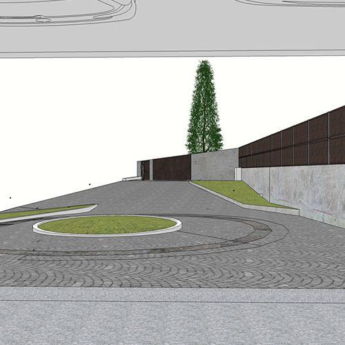 Studio Anna Cane | Il progetto | Piscina a Santa Vittoria d'Alba - 2
