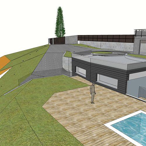 Studio Anna Cane | Il progetto | Piscina a Santa Vittoria d'Alba - 5